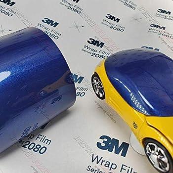 3M 1080 Gloss Deep Blue Metallic   G217   Vinyl CAR WRAP Film (Sample 2.5in x 4in)
