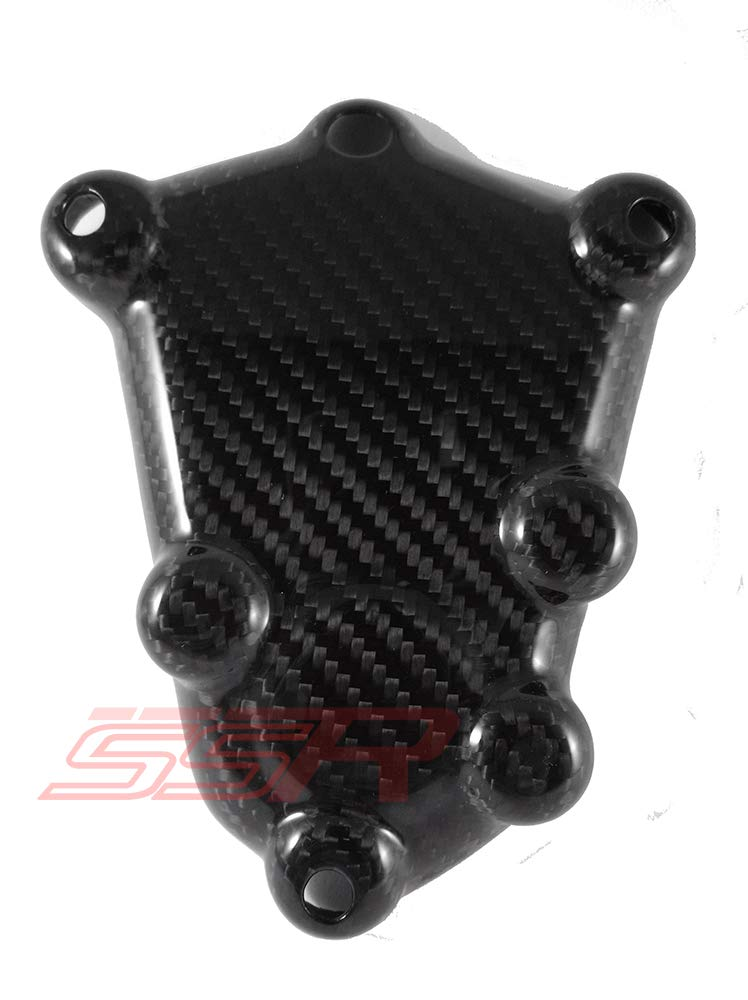 2009-2016 SSR Twill Carbon Fiber Fibre Upper Right Side Engine Case Cover for BMW S1000RR