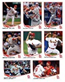 2013 Topps Baseball Cards - St. Louis Cardinals Complete Team Set (23) National League Champions