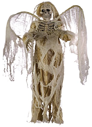 UHC Scary Hanging Angel Of Death Skeleton Party Decoration Halloween (Angel Of Death Hanging Prop)