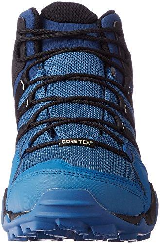 Scarpe Da Trekking Adidas Terrex Ax2r Mid Gtx Uomo Blu, Blu (azubas / Negbas / Azumis), 44 Eu