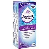 Replens Long-Lasting Vaginal Moisturizer, 0.24 OZ, 8 Count (Pack of 2)