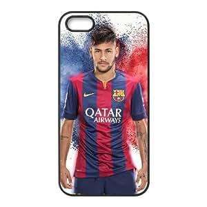 Neymar Jr Z7V86E8PY funda iPhone 4 4s Funda Caso de la cubierta P8YQM1 negro