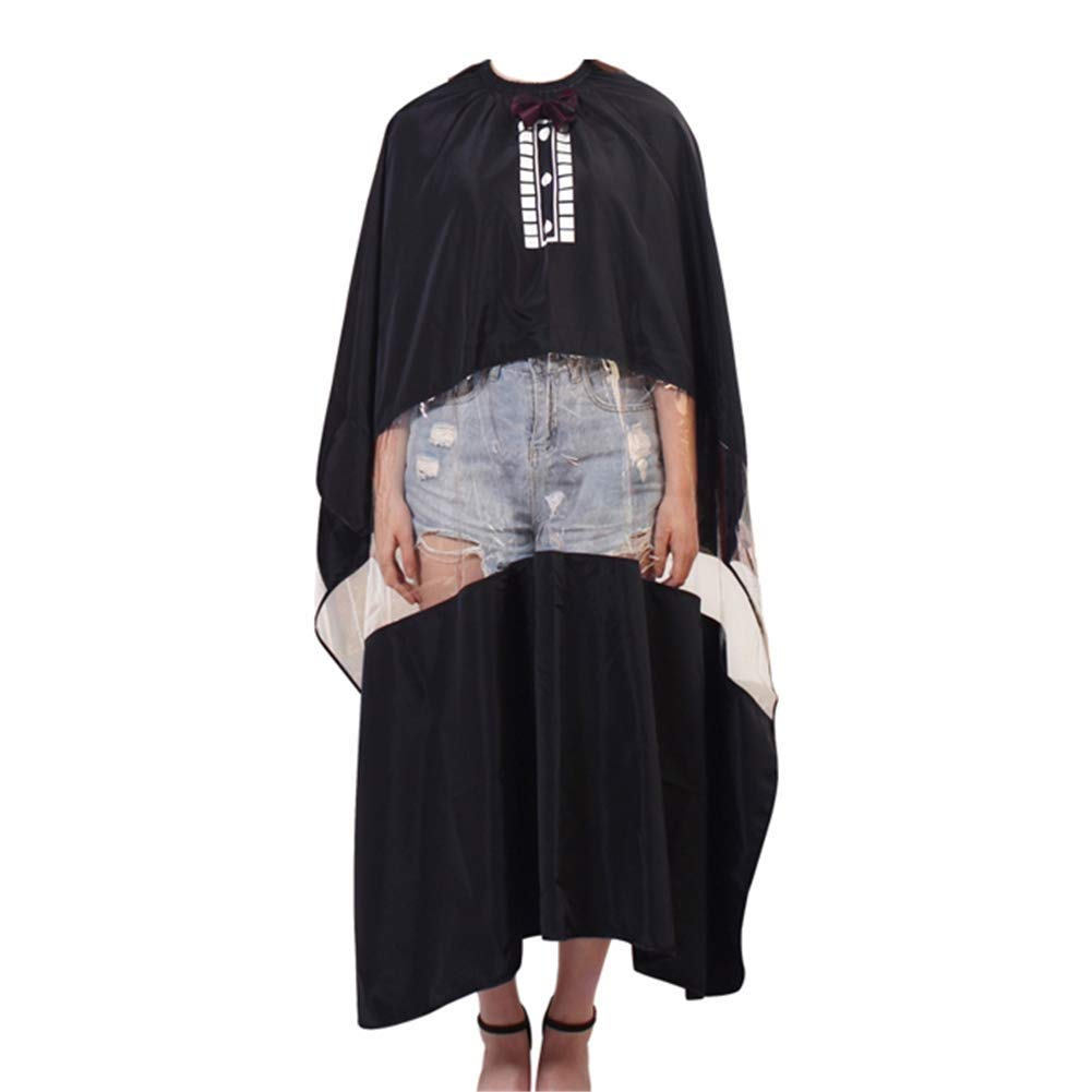 HIZLJJ Hair Cutting Cape Barbers Hairdressing Cape Waterproof Salon Gown with Viewing Window by HIZLJJ