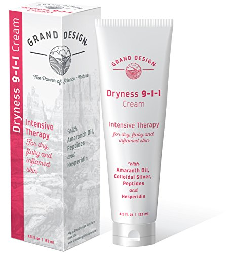 (Grand Design - Dryness 9-1-1 Natural Moisturizing Cream for Sensitive, Damaged, Irritated, and Dry Skin)