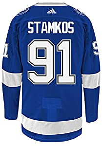 Steven Stamkos Tampa Bay Lightning Adidas NHL Men's Authentic Blue Hockey Jersey