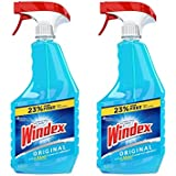 Windex® Glass & Multi Surface Cleaner, 32 Oz, Pack of 2