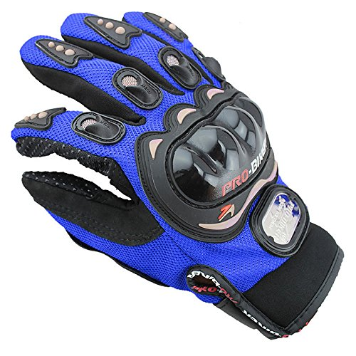CALAP-STORE - Motocross Men Women Waterproof Full Finger Mountain Bike Motorcycle Racing Gloves Breathable Mesh Fabric
