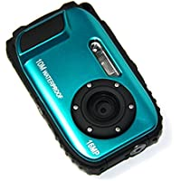 PowerLead Gapo G051 2.7 Inch LCD Cameras 16 MP Digital Camera Underwater 10m Waterproof Camera+ 8x Zoom(blue) Basic Facts Review Image