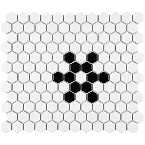somertile-fxlm1hms-retro-hex-snowflake-porcelain-floor-and-wall-tile-1025-x-1175-matte-white-black
