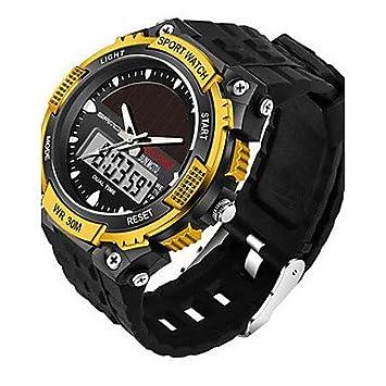 Bella relojes, Sanda para hombre reloj de pulsera reloj Alla Moda japonesa Energía Solar Calendario