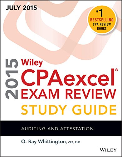 Wiley CPAexcel Exam Review 2015 Study Guide July: Auditing and Attestation