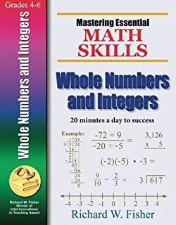 Mastering essential math skills book one grades 4 5cluding mastering essential math skills whole numbers and integers fandeluxe Choice Image