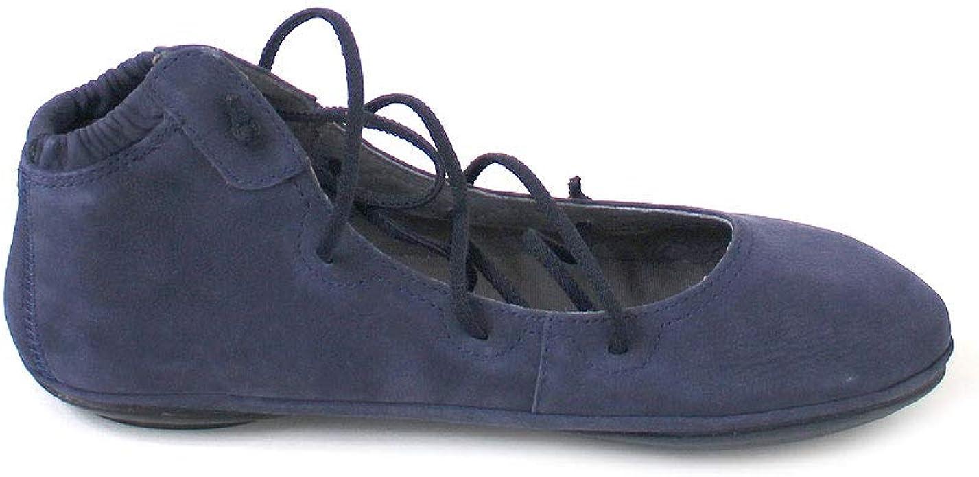 CAMPER Damen Right Nina K400194 Ballerinas Schwarz (Black 004)