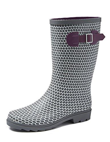Gevavi Boots ABBY06360 Abby Damen Stiefel Gummi, 36, Grau