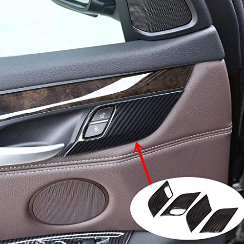 MAVMAX for BMW X5 F15 X6 F16 2014 2015 2016 ABS Chrome Rear Air Outlet Cover Trim Sticker Car Styling Car Accessory