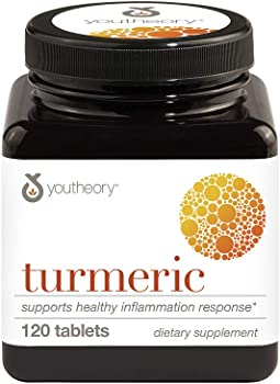 120-Count Youtheory Turmeric Advanced With Black Pepper Bioperine