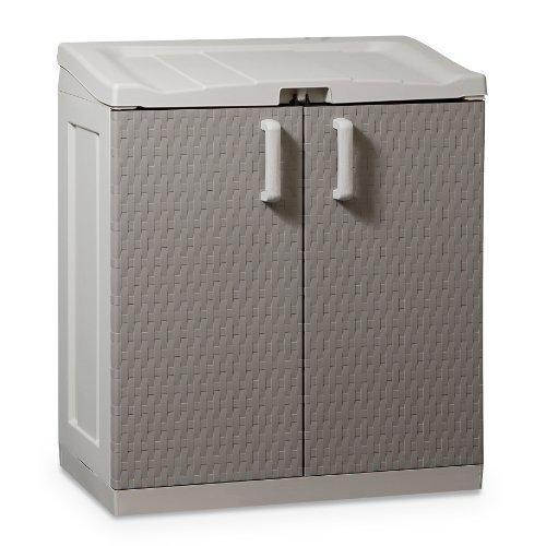 Gerätebox Aufbewahrungsschuppen Rattan Work XL