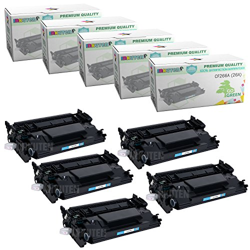 5 PACK - HP CF226A 26A Compatible Toner Cartridge for HP ...