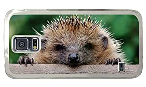 Hipster shop Samsung Galaxy S5 Case Hedgehog PC Transparent for Samsung S5