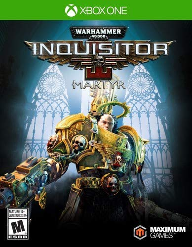 Warhammer 40,000: Inquisitor - Martyr - Xbox One: Amazon in: Video Games