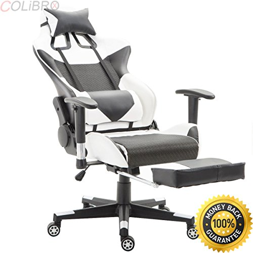51wJyi9GUBL - COLIBROX--Ergonomic Gaming Chair High Back Racing Office Chair w/Lumbar Support & Footrest. top gamer ergonomic gaming chair amazon. chair high back swivel computer office chair with footrest.