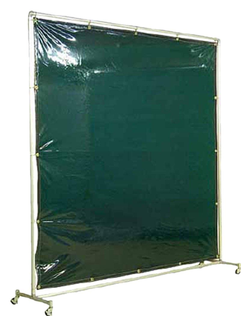 吉野 遮光フェンスアルミパイプ 2×2 単体キャスター グリーン YS22SCG  B004OR5LGS