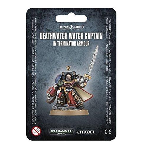 (Games Workshop Warhammer 40,000 40K Deathwatch Watch Captain in Terminator Armour)