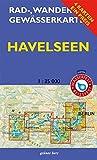 """Rad-, Wander- und Gewässerkarten-Set: Havelseen: Mit den Karten: """"Havelseen 1: Brandenburg/Havel"""", """"Havelseen 2: Beetzsee bis Ketzin"""", """"Havelseen 3: ... Berlin/Brandenburg / Maßstab 1:35.000)"""