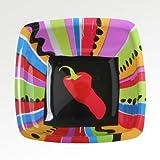 Fiesta Fun Plastic 11in Square Bowl