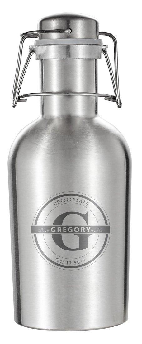 玄関先迄納品 Personalized ozビールGrowler Groomsmen Personalized Visol Visol Cassisステンレススチール32 ozビールGrowler B075X1CDRP, Epoca select shop:a6110aac --- a0267596.xsph.ru