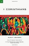 1 Corinthians, Alan F. Johnson, 0830818073