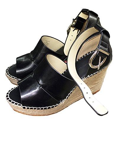 Zara Femme Talons compensés à brides de cheville en jute 2562/201