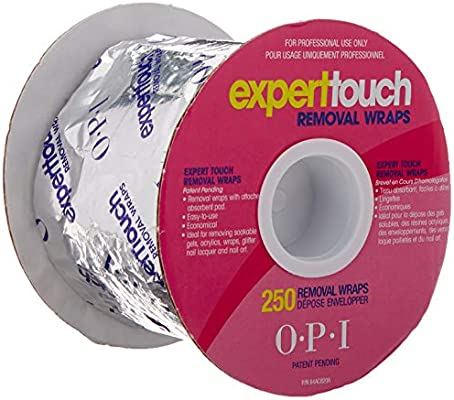 OPI eexpert Touch Removal Wraps 1er Pack (1 x 250 unidades ...