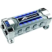 Power Acoustik Pcx-3f 3 Farad Digital Display Car Audio Capacitor with Neon Lights + Digital Blue Voltmeter