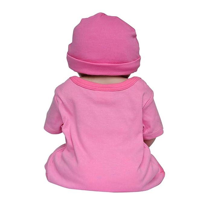 Amazon.com: Muñeca de bebé reborn de 21.7 in para regalo de ...