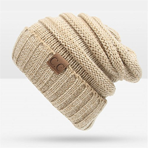 Donna Pierce Warm Winter Hat For Women Skullies Beanies Women Knitted Hat Female Warm Cap Knitted Beanie Winter Hat Wholesale ()