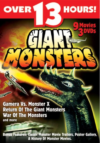 Giant Monsters by St Clair Entertainment Group, Inc