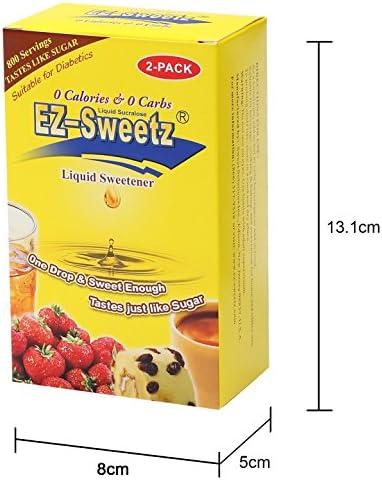 EZ-Sweetz (2.0oz - Liquid Sweetener 800 Servings/Bottle) (Original, 2 Pack) 5