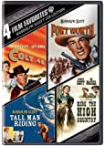 4 Film Favorites Randolph Scot (Colt .45 / Fort Worth / Tall Man Riding / Ride The High Country)