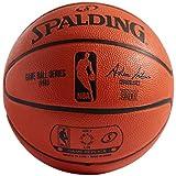 Spalding NBA Mini 2-Panel Basketball, Orange, Mini/Size 3/22-Inch