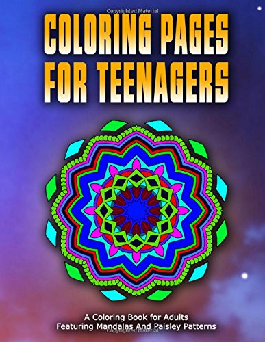 COLORING PAGES FOR TEENAGERS - Vol.1: coloring pages for girls (Volume 1)