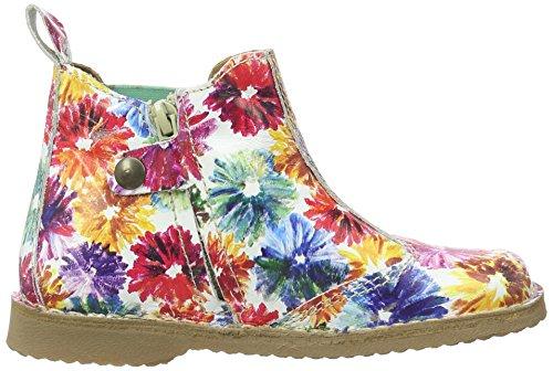 Bisgaard Mädchen Stiefel Chelsea Boots Mehrfarbig (3014-1 Flower-multi)