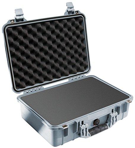 Pelican 1500 Camera Case With Foam (Silver) by Pelican