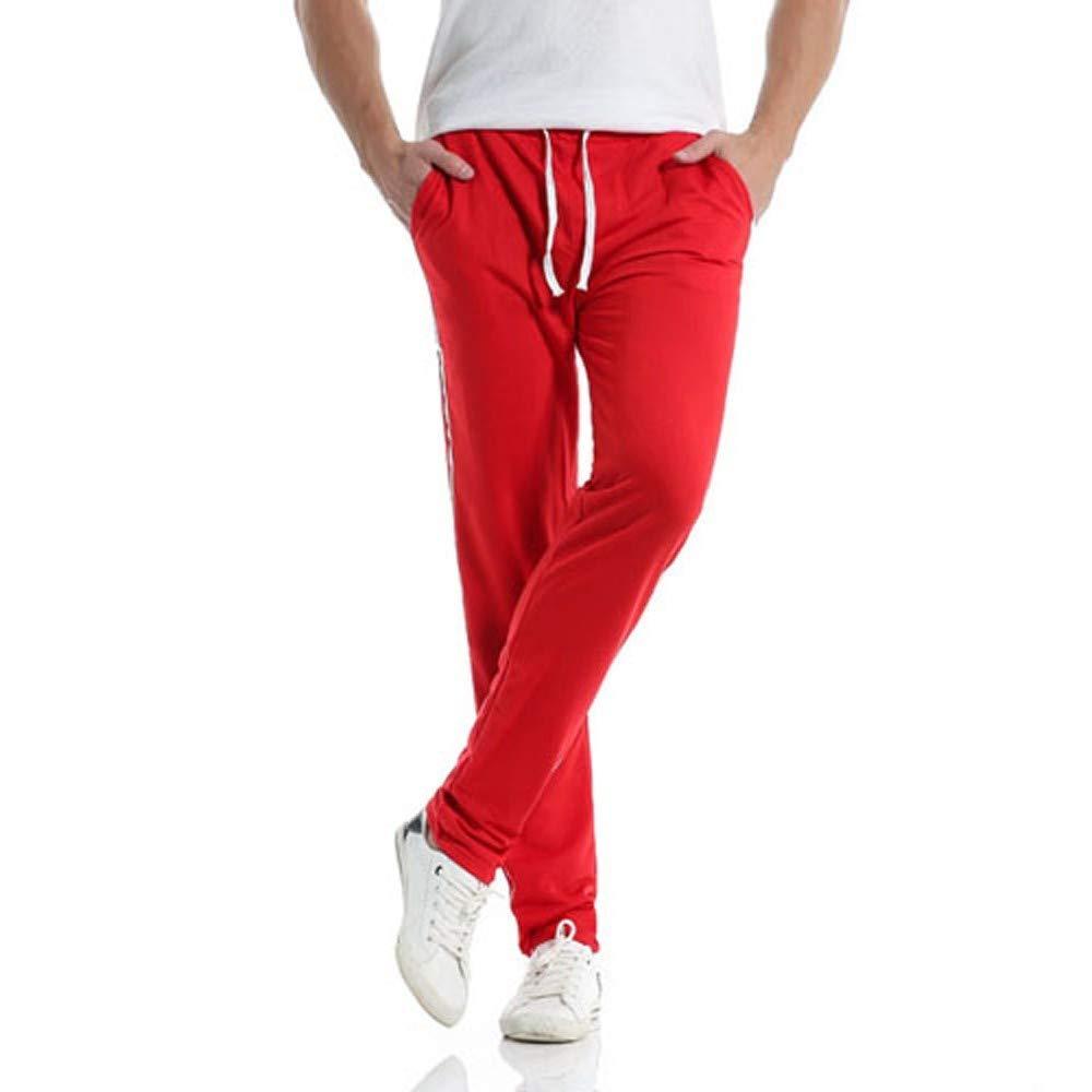 Innerternet Legging Automne Hiver Pantalons Sport Dé Contracté S pour Hommes Pantalons Rayé S Pantalon Long Baggy Harem