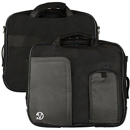 13.3'' Laptop Tablet Sleeve Briefcase Shoulder Bag for Acer XPS 12 / Latitude 12 7000 / Chromebook / Aspire / Apple MacBook / Asus Transformer Book / ZenBook / ZenBook Touch / ZenBook Prime by Vangoddy