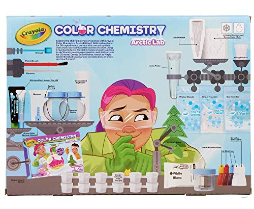 51wK2guyRbL - Crayola Artic Color Chemistry Set for Kids, Steam/Stem Activities, Educational Toy, Ages 7, 8, 9, 10