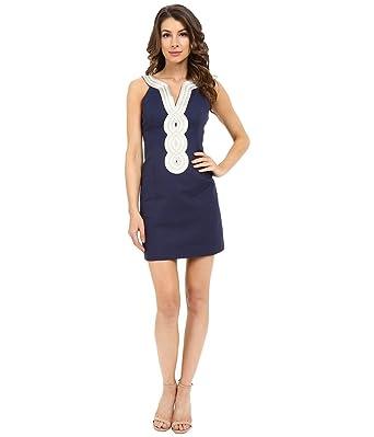 93a3e991874 Lilly Pulitzer Women s Valli Shift Dress at Amazon Women s Clothing store
