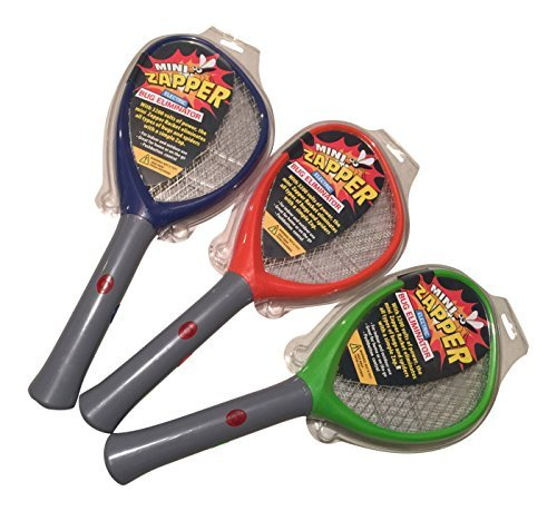 MINI ZAPPER. Handheld Racket Electric Bug Eliminator. 17