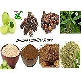 Amla Reetha Shikakai Bhringraj Powder - Organic offer of the day